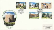 (48747) GB JERSEY FDC National Trust 17 Giugno 1986