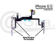 Power Flex boton volumen mute silencioso interruptor Flash Con Soporte Para iPhone 6S 4.7