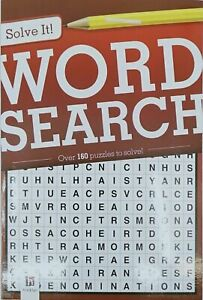 SOLVE IT PUZZLE BOOKS | Sudoku  Crossword Word Search Over 160 Puzzles [Style: W