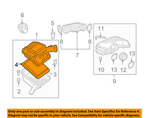 GM OEM Engine-Air Filter Element 15942429
