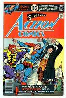 Action Comics #463 9.4  (DC Comics) Superman Clark Kent BICENTENNIAL   SEE SCANS