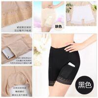 Hot Women Modal Long Leg Briefs with Pockets Underwear Pettipants Knickers