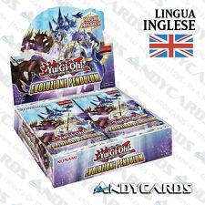 PREVENDITA INGLESE ☻ Box 24 Buste Evoluzione Pendulum / Evolution ☻ PEVO YUGIOH