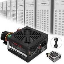 Max 800W Rated 500W Computer Power Supply Gaming PSU PFC 24pin Sata For MAC