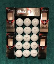 15 Titleist 2013 Pro V1x Golf Balls ++ No Logo ++ No Ink ++ Each Condition Rated