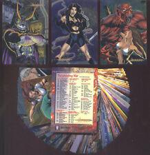 AVENGELYNE Series 2 - Chromium 90 Card Bad Girl Set - FREE US Priority Shipping