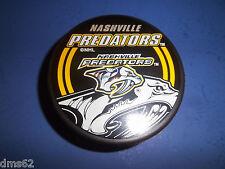NEW NASHVILLE PREDATORS OFFICIAL NHL HOCKEY PUCK  NHL LICENSED PUCK 14