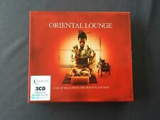 3 CD pack ORIENTAL LOUNGE - FROM THE GLOBAL CHILLOUT LOUNGE- Total 30 Tracks