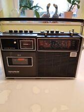 Alter  Universum Radio -Recorder  mit Ledertasche