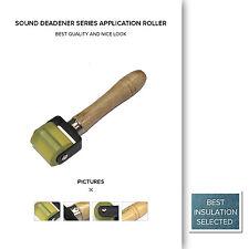 Wooden Car Audio Sound Deadener Application Roller Deadening Installation Tool