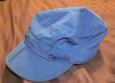 Outdoor Research Radar Pocket Cap Blue UPF  Hat Small Folding Crushable Packable