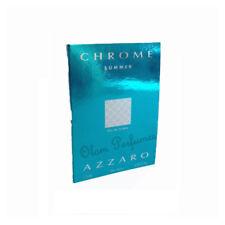Azzaro Chrome Summer Edition Eau de Toilette Vial Sample Spray 0.05oz 1.5ml