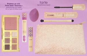 TARTE 6 Piece Shape Tape & Glow / Light & Lifted Color Collection LIGHT New