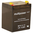 jewo Multi Power mp4.5-12 AGM 4 ,5ah 12v sin mantenimiento BATERÍA DE PLOMO