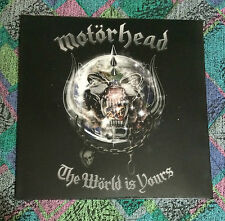 MOTORHEAD the world is yours LP first press   slayer ramones ozzy exploited absu