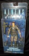 "NECA aliens series 2 sergent Windrix (colonial marines) - 7"" action figure"
