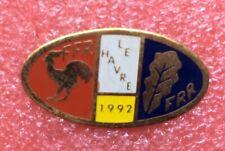 Pins RUGBY CLUB RC LE HAVRE FFR Vintage Lapel Pin Badge