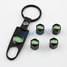 Car Air Valve Cap Cover For Land Rover Defender Discovery Key Chain Accessories