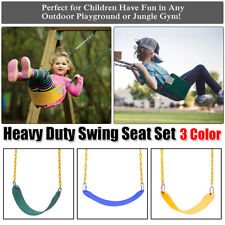 New listing Swing Seat Set Accessories Replacement Swings Slides Playground Outdoor 3 Colors