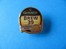 BREW 39, Brewhouse Series Guinness Pin badge. Unused old stock.