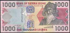TWN - SIERRA LEONE 24a - 1000 Leones 1/2/2002 UNC Prefix K