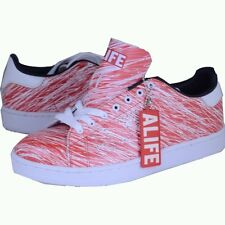 16efcf62a5ffc3 ALIFE Scribble Cup Barneys red  white sneakers athletic shoes sz 9.5 new