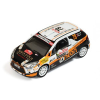 IXO RAM459 Citroen DS3 RS#79 Rally Monte Carlo IRC2011 1:43 Scale