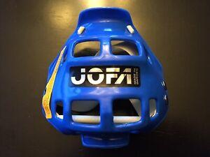 NOS Vintage JOFA Mouth Guard Blue Motocross 70s 80s MX BMX Hockey