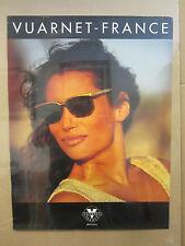 6f4a4c07b90 vintage Vuarnet-France Optical poster eyewear sunglasses 4588