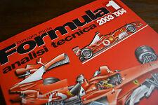 FORMULA 1 2003/2004 ANALISI TECNICA: analisi tecnica Giorgio Piola LIBRO F1