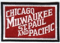"""RAILROAD PATCH  - Chicago, Milwaukee, St. Paul and Pacific Railroad 4 X 2 3/4"""""""