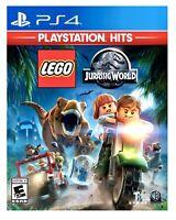 LEGO Jurassic World PS4 Hits BRAND NEW SEALED Sony PlayStation 4 Free Shipping