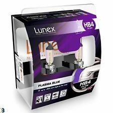 Lunex HB4 Halógeno Bombillas De Los Faros Coche Azul de plasma efecto Azul 4200K Twin