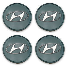 Set 4 52960-38300 99-06 Hyundai Sonata Tiburon Elantra Wheel Center Caps Hubcaps