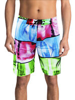 SURF SUMMER SURF BEACH SPORT MEN'S SWIMWEAR TRUNKS SWIMMING BOARD SHORTS
