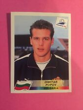 FRANCE 98 PANINI World Cup Panini 1998 - Popov Bulgaria N.298