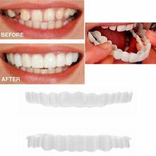 2X/set Bottom Upper Lower False Teeth Dental Veneers Dentures Fake Tooth Smile
