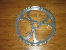 POLISHED ALUMINUM MOTORCYCLE FRONT WHEEL FOR HARLEY CHOPPER - 20 X 2.15