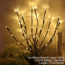 1pcs 20 LED Branch Floral Lights Lamp String Merry Christmas Tree Xmas Decor