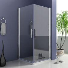 Duschkabine Eckeinstieg Duschabtrennung Schwingtür Duschtür Nano-glas M199