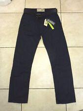 "Burton Menswear Dritta Con Cintura Jeans Vita 32"" Gamba 32"" BNWT RRP £ 35 Dark Blue"