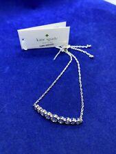 Kate Spade Full Circle Slider Cubic Zirconia Bangle Bracelet O0ru2668 Silver
