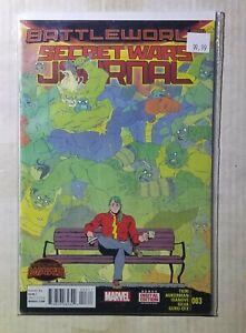 Secret Wars Journal 3 (9.8) NM/MT (2015)
