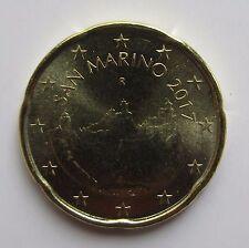 San Marino 20 cent 2017 (UNC)