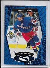 98-99 UD Choice Wayne Gretzky StarQuest Blue # SQ1
