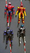 GI Joe like lot of 4 action figures 3.75 1:18