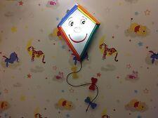 Childrens Kite Ceiling/Wall Light Novelty Childrens Bedroom Light.