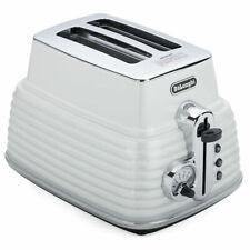 Delonghi CTZ2003W 2 Slice Toaster - Zinc White