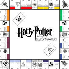Harry Potter,Monopoly White Board,10in Set,Harry Potter Game, Harry Potter