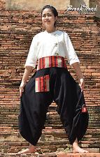 Aladin Pump pluder pantalones harén Pants pantalon Goa india inde asia Palong 3801